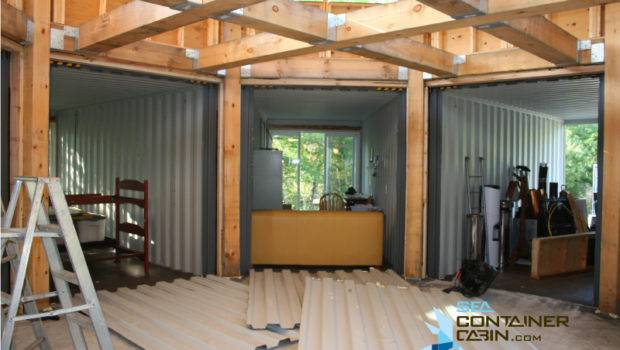 Diy Shipping Container Cabin Kit Cutting Metal Walls