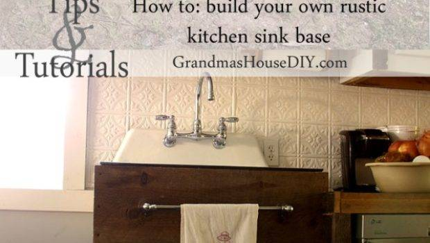 Diy Sink Bases Cabinets Can Make Yourself