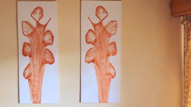 Diy String Painting Wall Art Panels Decorating Rooms Pine Cone