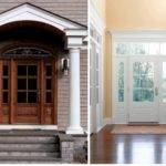 Door Front Entrance Contemporary Style Design Ideas