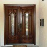 Doors Decor Ideas Double Glazed Front Door Home Design