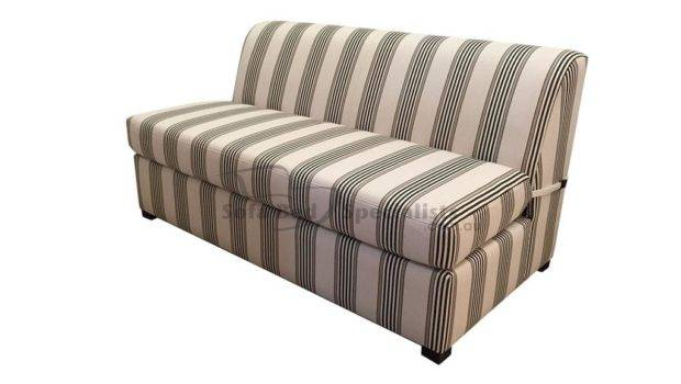 Double Armless Sofabed Innerspring Sofa Bed Specialists