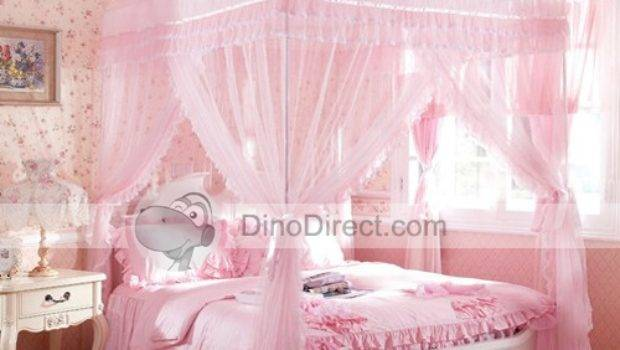 Double Canopy Bed Home Design