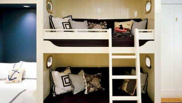 Double Deck Bed Designs Small Spaces