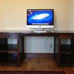 Double Drawer Channing Computer Desk Yourself Home Projects