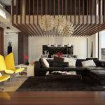 Double Height Living Rooms Add Air Luxury