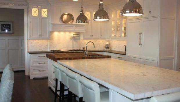 Double Kitchen Islands Transitional Grothouse Lumber