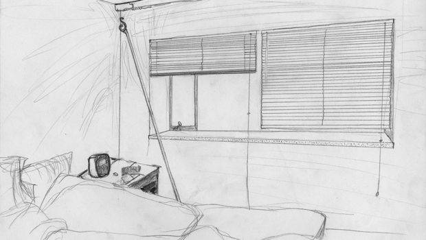 Draw Bedroom Pre Instruction Drawing