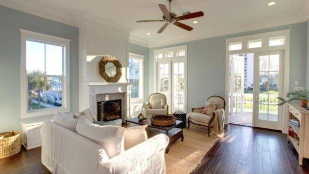 Drawing Room Light Blue Color Split Complementary