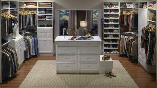 Dream His Hers Walk Closet Home Pinterest