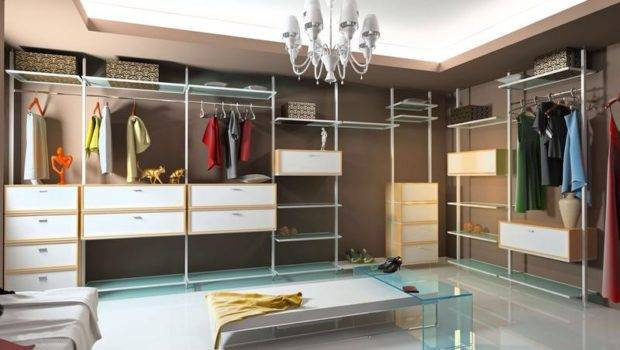 Dressing Room Walk Closet Modular Wardrobe Designs