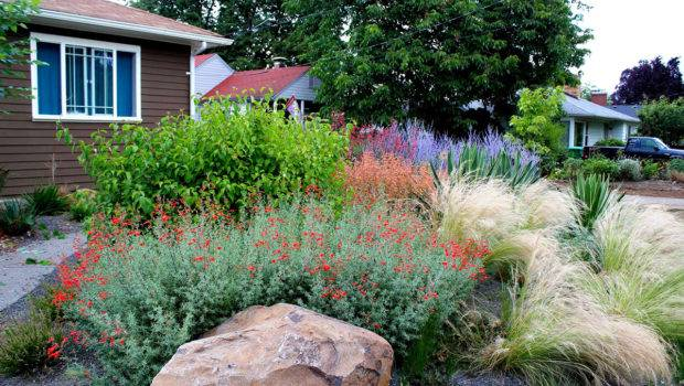 Drought Tolerant Garden Gravel Creative Landscapes Inc