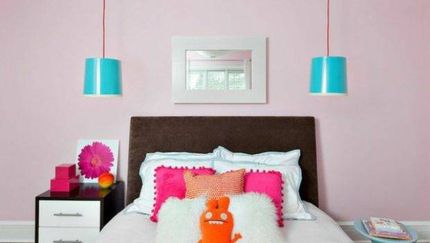 Dusky Pink Wall Color Hint Romance Interior