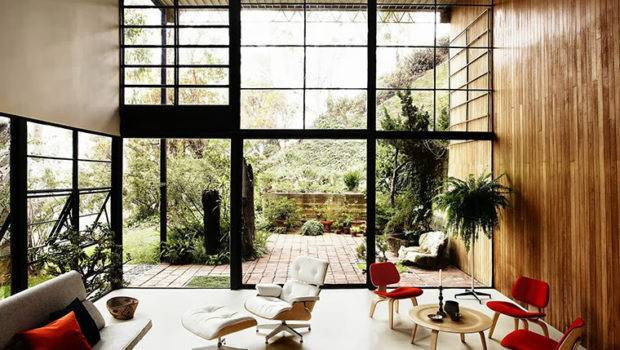 Eames House Pacific Palisades Gorgeous Daily