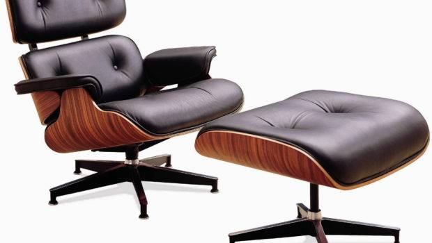 Eames Lounge Chair Ottoman Model Famous Piece Art