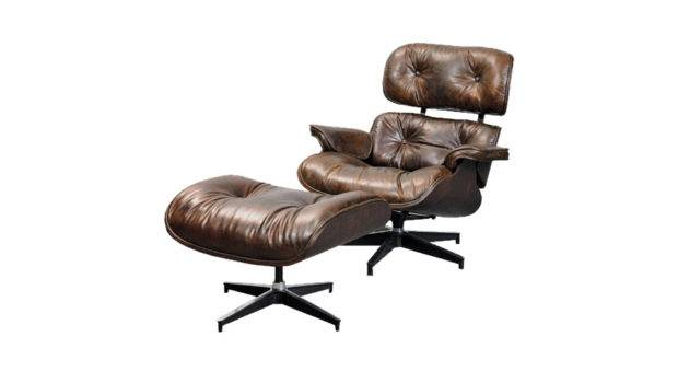 Eames Style Chair Footstool Russkell Furniture