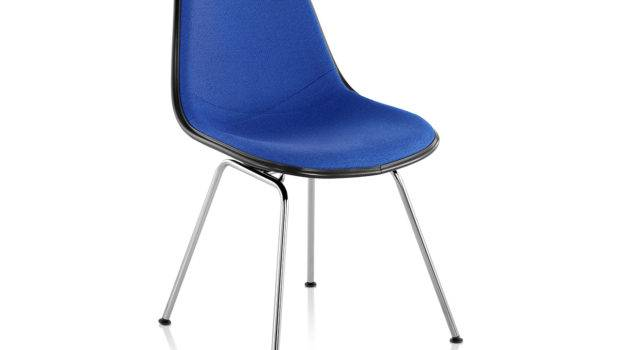 Eames Upholstered Side Chair Leg Base Hivemodern