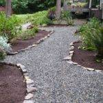 Easy Cheap Crushed Rock Pathway Edging Hardscapes