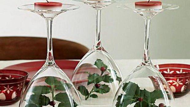 Easy Christmas Table Decorations Cheap