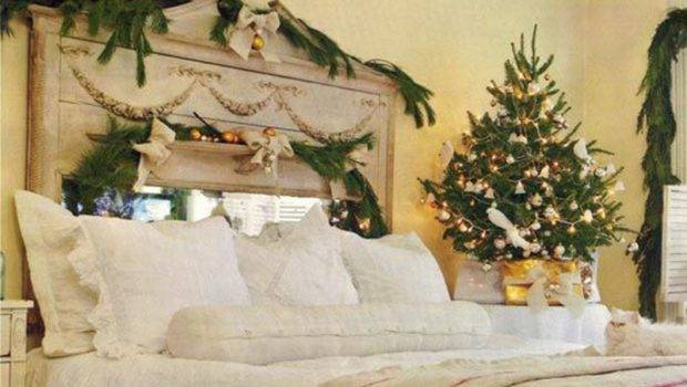 Easy Ways Decorate Your Bedroom Christmas Wowness