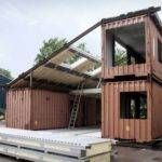 Eco Friendly Architecture Buildings Made Recycled Shipping