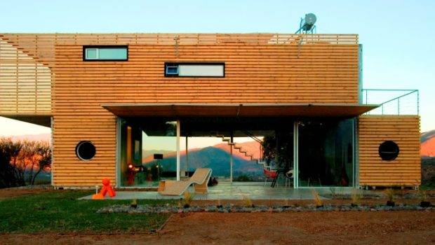Eco Friendly Luxury Living Shipping Container