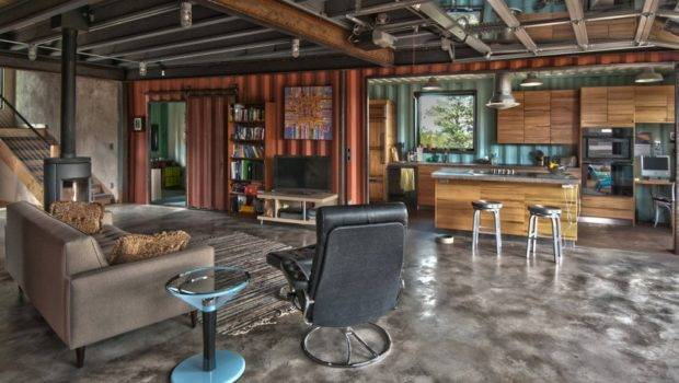 Eco Friendly Shipping Container House Usa Interior Design
