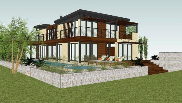 Eco Luxury Zero Leed Platinum Home Under Construction