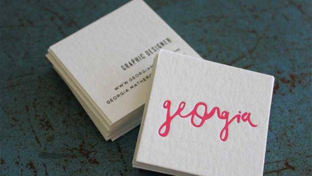 Edgy Business Cards Best September Card