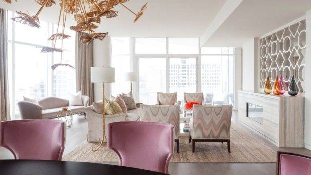 Elegant Apartment Dallas Exudes Femininity