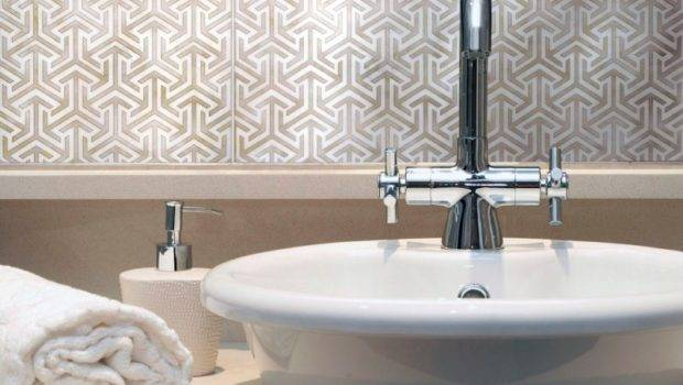 Elegant Bathroom Tiles Interior Design