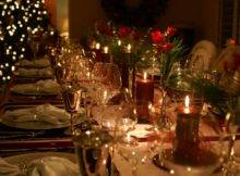 Elegant Holiday Table Sent Affairs Catering