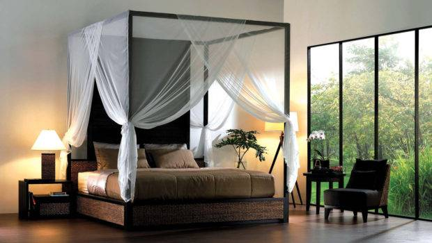 Elegant Iron Canopy Bed Designs Inspire Metal