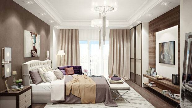 Elegant Kiev Apartment Visualized Irena Poliakova Caandesign