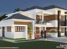 Elegant South Indian Villa Kerala Home Design Floor