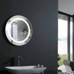 Elita Round Lighted Vanity Mirror Led Bathroom