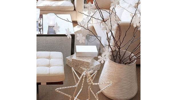 Elle Decor Modern Christmas Decorating Concepts Festive