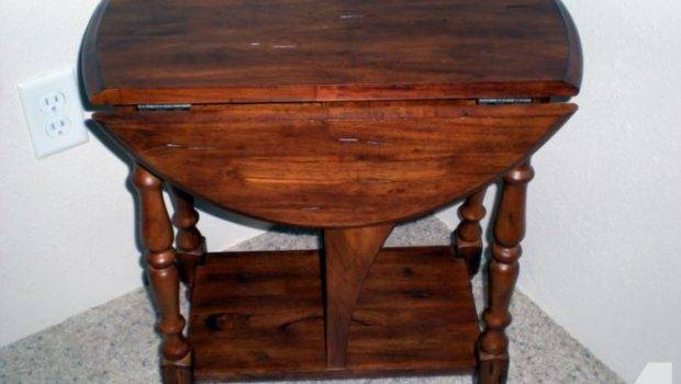 End Table Two Retractable Leaves Sale Medford Oregon
