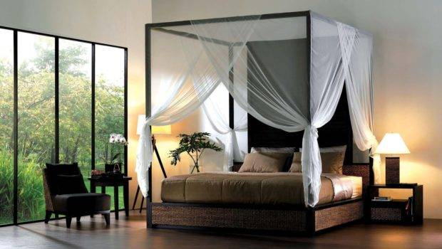 Enhance Your Fours Poster Bed Canopy Curtains