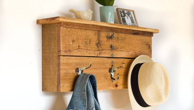 Entryway Organizer Coat Hooks Bydadanddaughter
