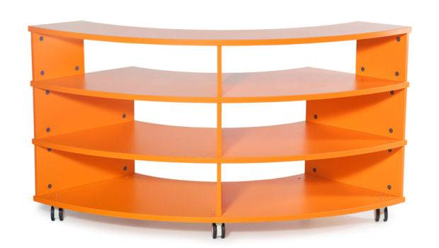 Equip Curved Bookcase Bfx Furniture