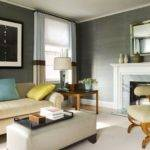 Eric Roth Grey Walls Living Room Modern Contemporary
