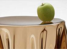 Essey Essay Illusion Side Table Brown Tables