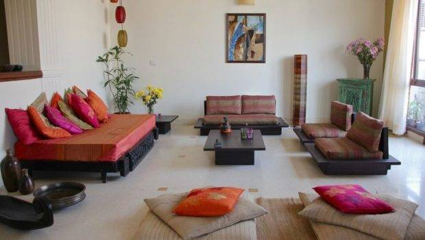 Ethnic Indian Living Room Interiors Rooms