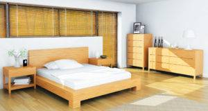 Europa Eco Friendly Platform Bed Haiku Designs