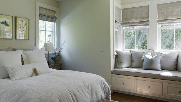 European Style Small Bedroom Bay Window Decoration