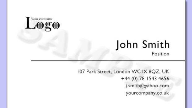 Examples Business Cards Card Design Ideas