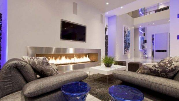 Excellent Fireplace Facing Simple Table Carpet Cozy Sofa