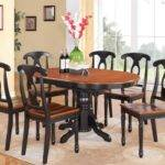 Excellent Flair Oval Dining Room Tables Elegant Ideas