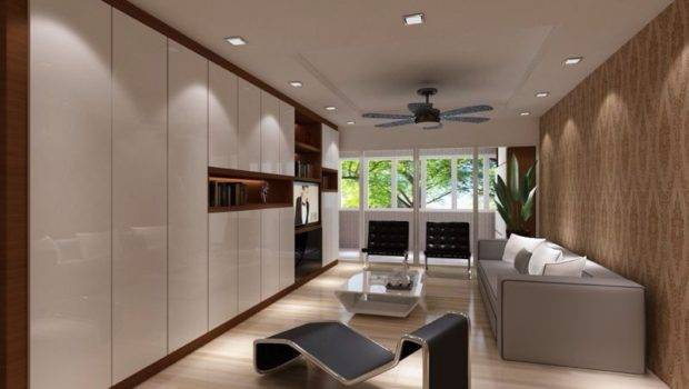 Excellent Modern Condo Living Room Interior Design